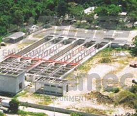 Retrofit de tanques de sedimentação de lodo de estação de tratamento