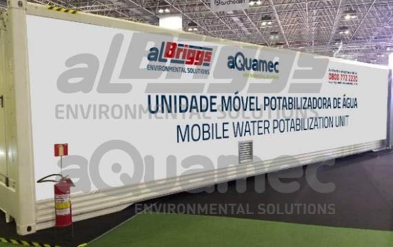 Unidade Móvel Potabilizadora de Água