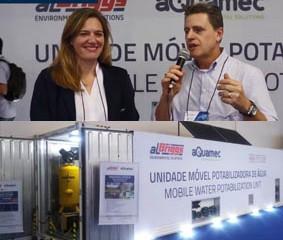 Entrevista: aQuamec apresenta unidade móvel potabilizadora de água