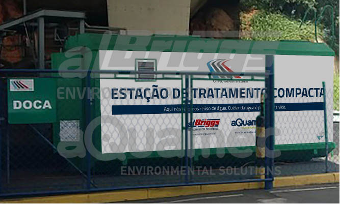 Sistema instalado em estação rodoviária
