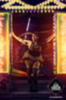 Stripteaseuse Ronde Paris