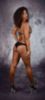 Stripteaseuse Paris black Audrey