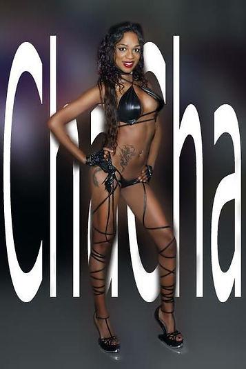 Stripteaseuse Paris black Chacha