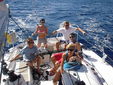 sailing boat trips in Antigua