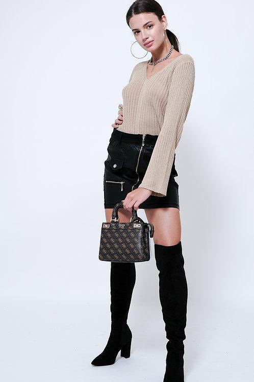 חצאית עור WAIOLA / Antigo