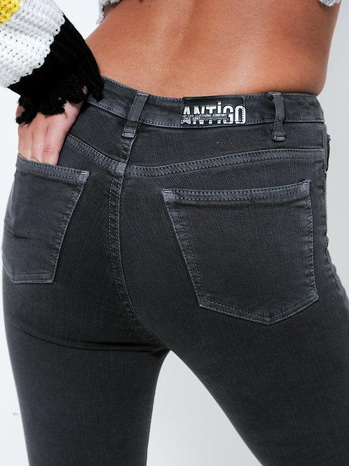 ג'ינס סקיני אפור / Antigo