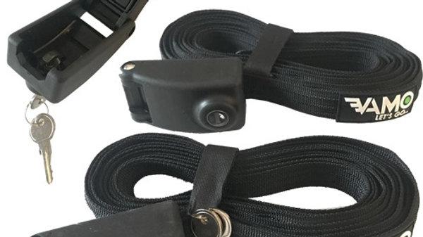 Vamo 14' Locking Tie Down Straps