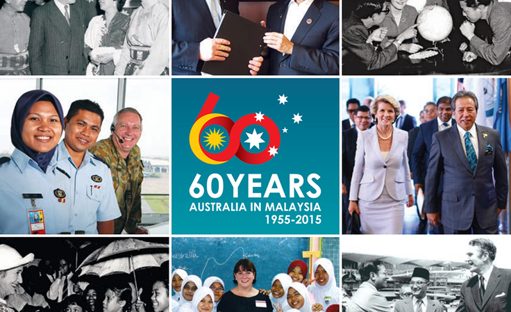 60 Years Australia in Malaysia (front cover)