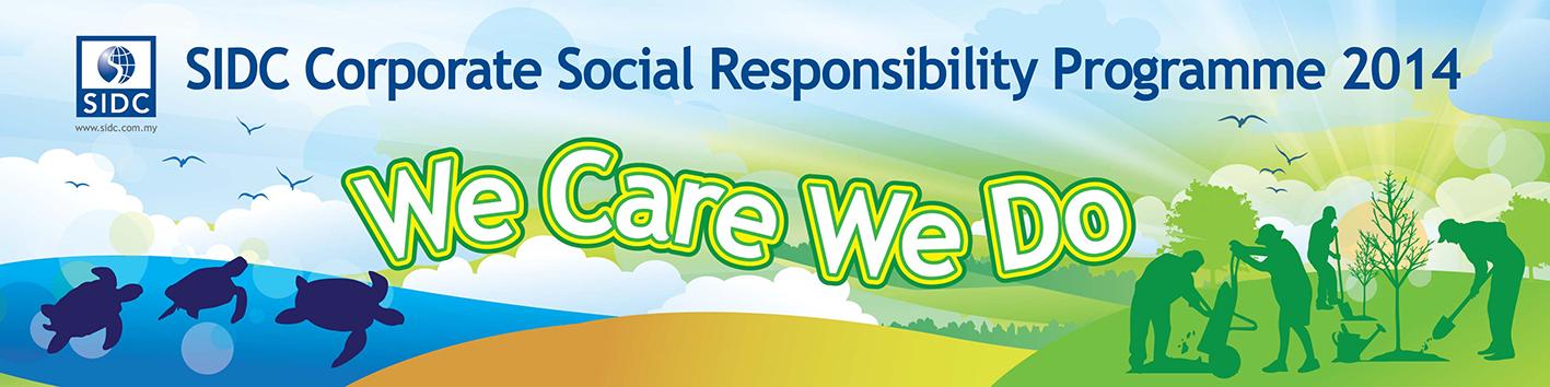 SIDC: CSR banner 2014