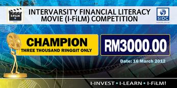 Mock Cheque I-Film Champion
