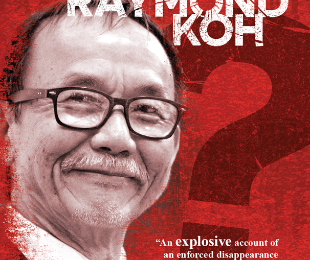 Where is Pastor Raymond Koh (front cover)