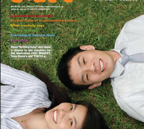 Sunway Blaze Magazine (sample one)