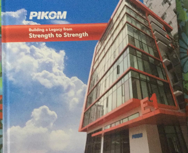 PIKOM Coffee Table Book (frontcover)