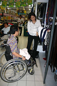Debbie helping to select clothes.jpg