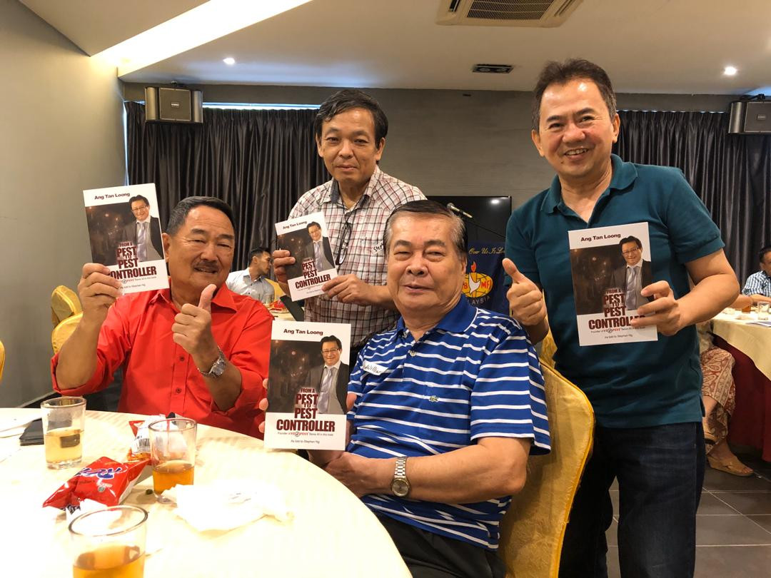 Friends who bought the book during the launch