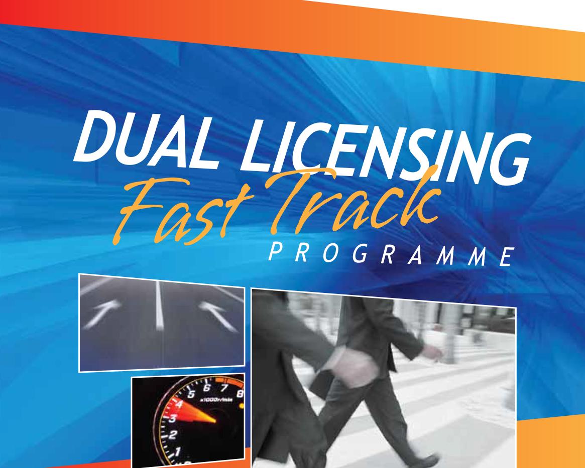 Dual Licensing Fast Track (Brochure)