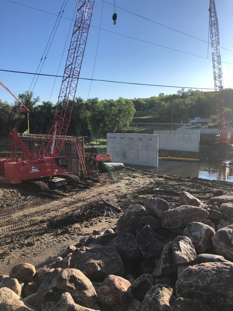 Burlington, ND - Pier Pour 2019