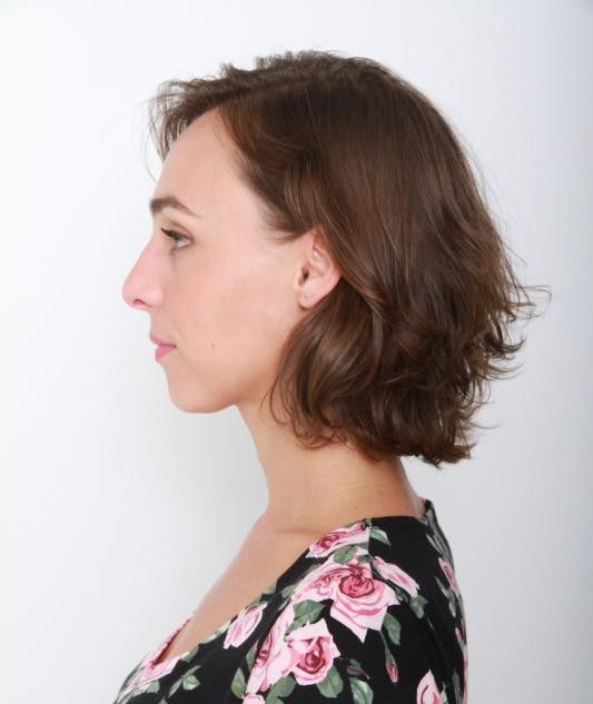 Ana profile left