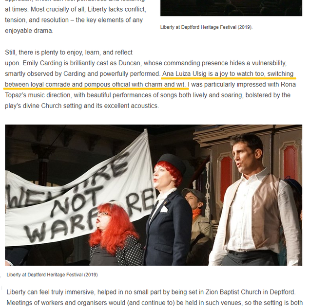 "Review Alex Hayward on ""Liberty"""