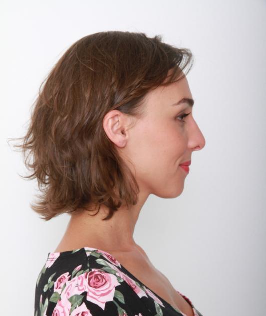 Ana profile right