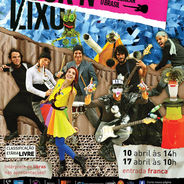 Rock'n Lixo flyer