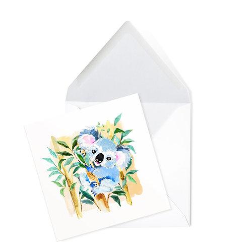 KOALA | x50 printed cards (14 x 14cms)
