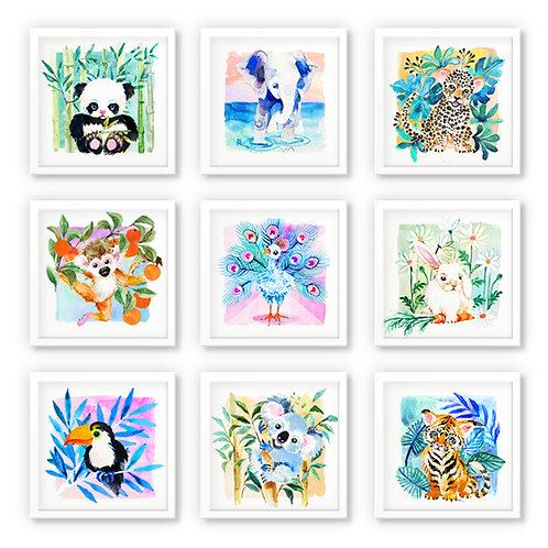 ENSEMBLE | fine art print (9 prints)