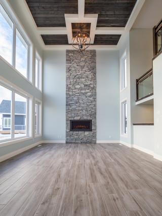 Custom wood ceiling