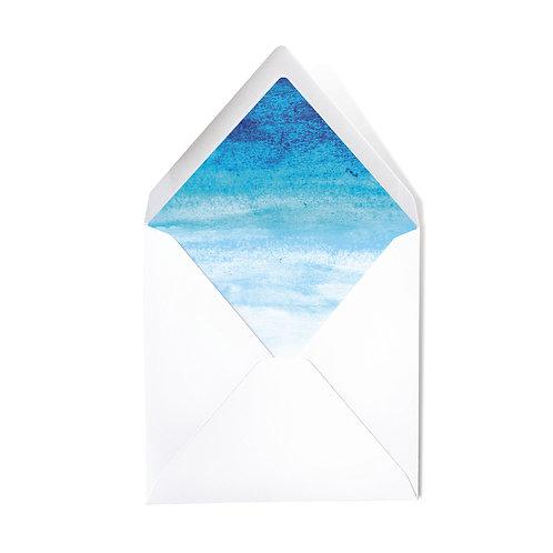 GRADIENT | x50 luxe envelopes (14 x 14cm)