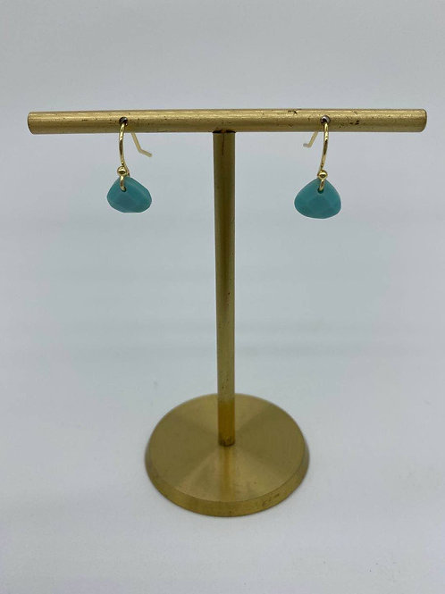 December - Turquoise Earrings11th  and 24th Anniversary