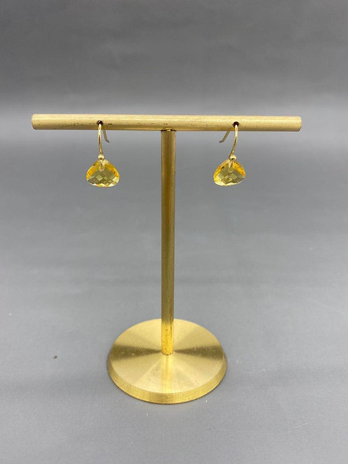November - Citrine Earring 4th and 23rd Anniversary
