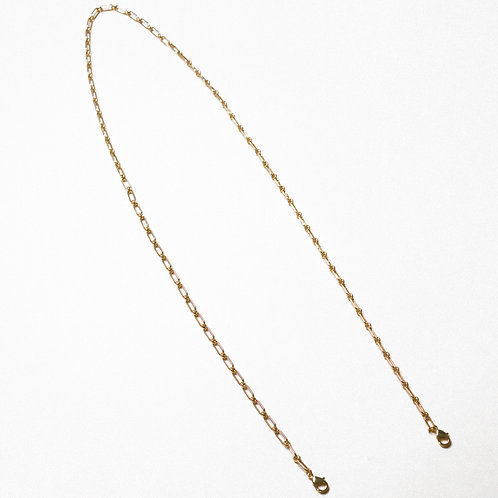 Gold Square  Link Mask Chain