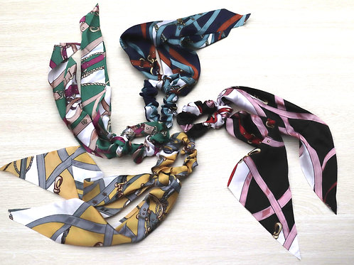 Scarf Scrunchie Buckle Style  Bundle