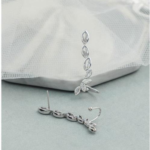 Crystal Cuff Earring