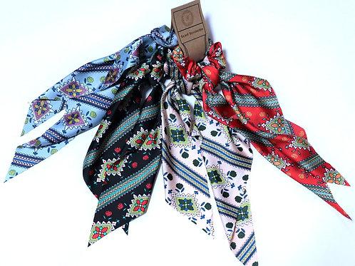 Scarf Scrunchie Diamond Design Bundle