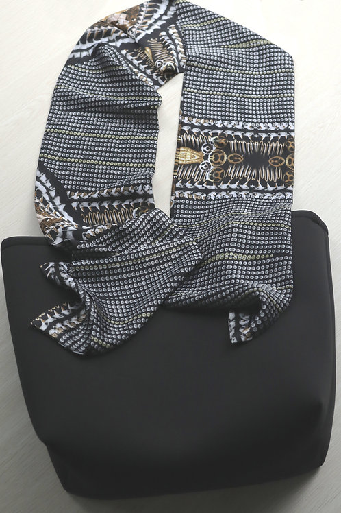 Black and Gold Scarf  Handles