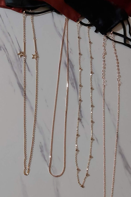 Gold Mask Chains