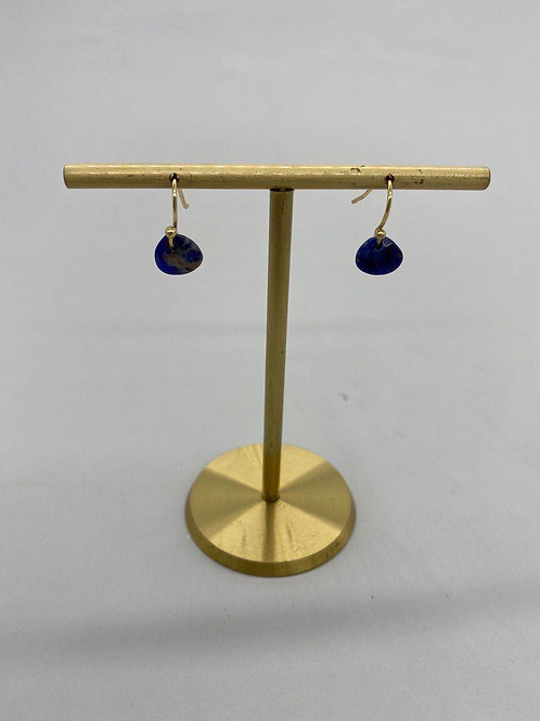 September - Blue Sapphire Earrings 5th  and 45th Anniversary