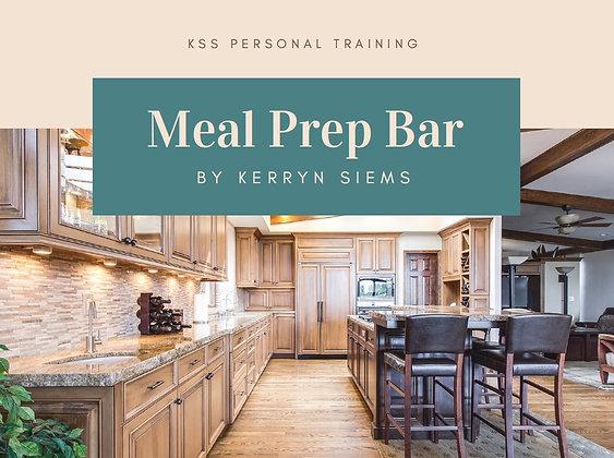 Meal Prep Bar Recipe Book