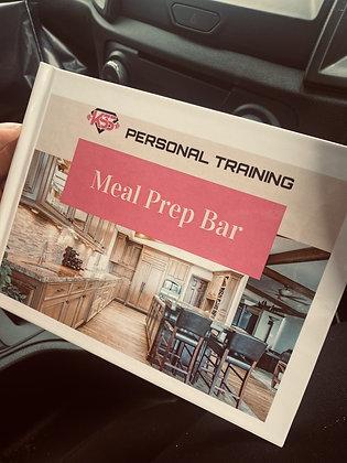 KSS Meal Prep Bar Hard Cover
