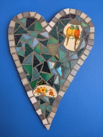 Mosaic Heart - Rachel