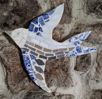 Harriet Mosaic Bird