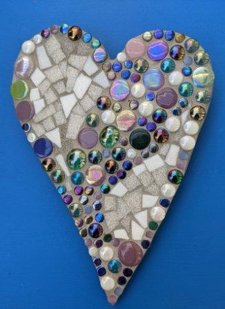 Dotty Mosaic Heart