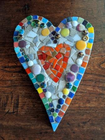 Helen Mosaic Heart