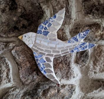 Mosaic Bird-Harriet