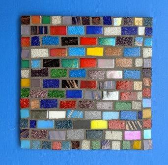 Tutti Frutti - mosaic pot stand