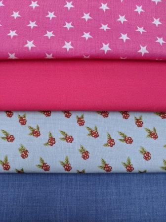 Pink Fabric Mask Selection