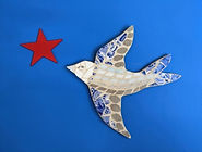 mosaic bird and star.jpg