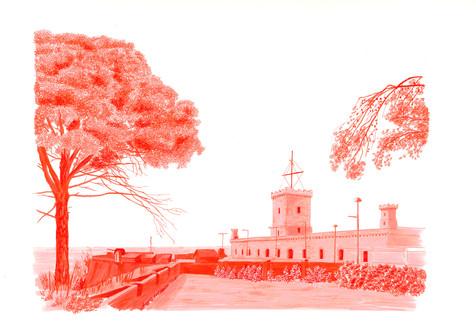 Castell de Montjuic. Ruta Guerres.jpg