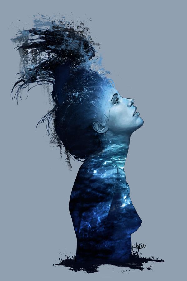 """The Sensation of Drowning"" by Deviantart user Cassie Tyler (ctyler)"